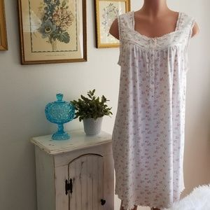 Charter Club Cotton Floral Nightgown
